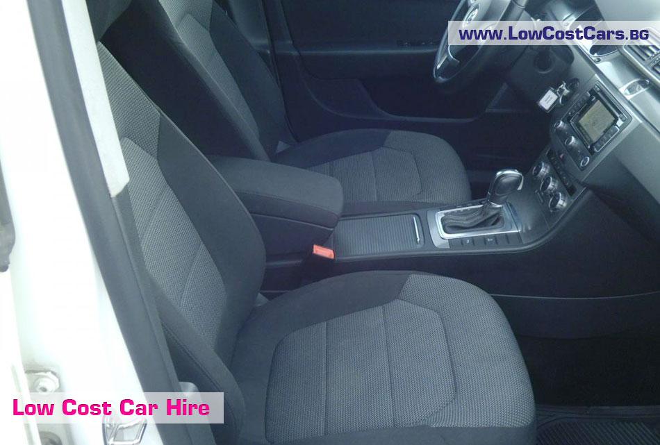 VW Passat aut inside