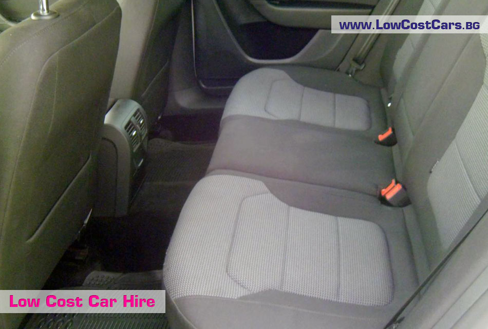 VW Passat automatic backseat