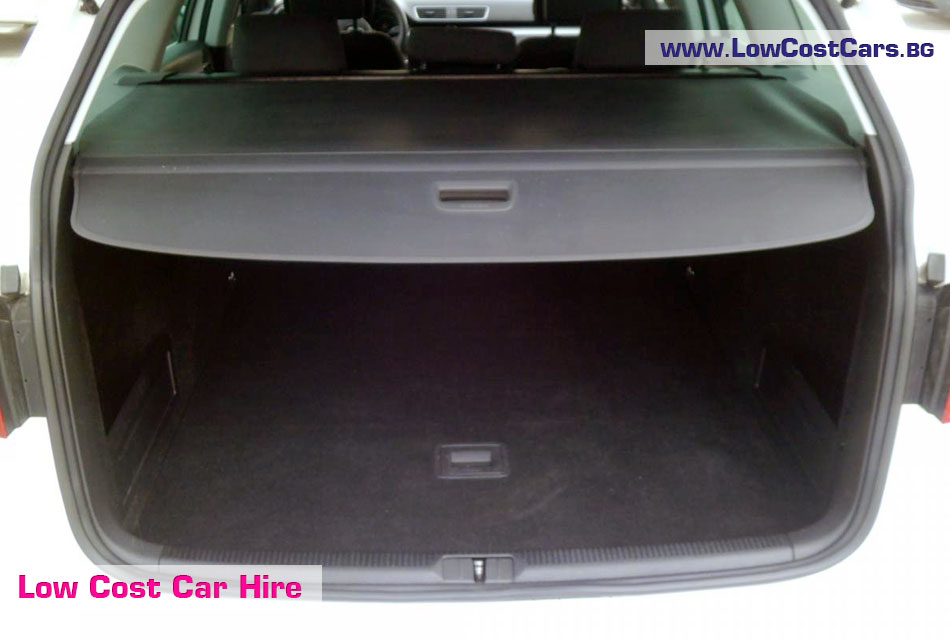 VW Passat automatic trunk