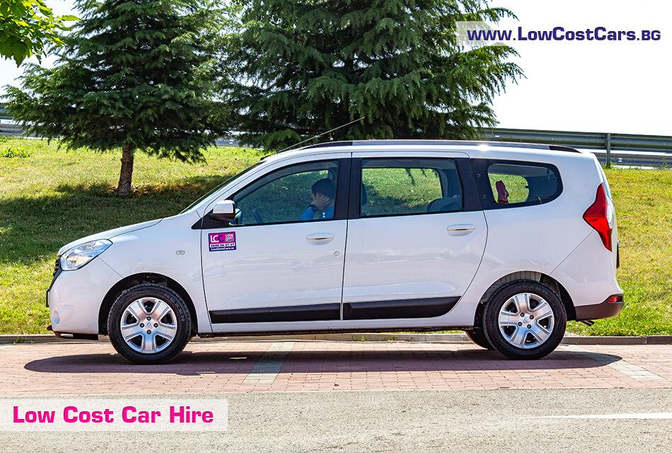 Dacia Lodgy 2019 - side view