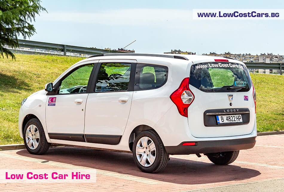 Dacia Lodgy 2019 - back view