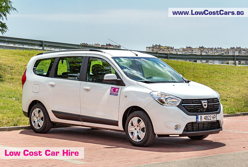 Dacia Lodgy 2019 -  front side view