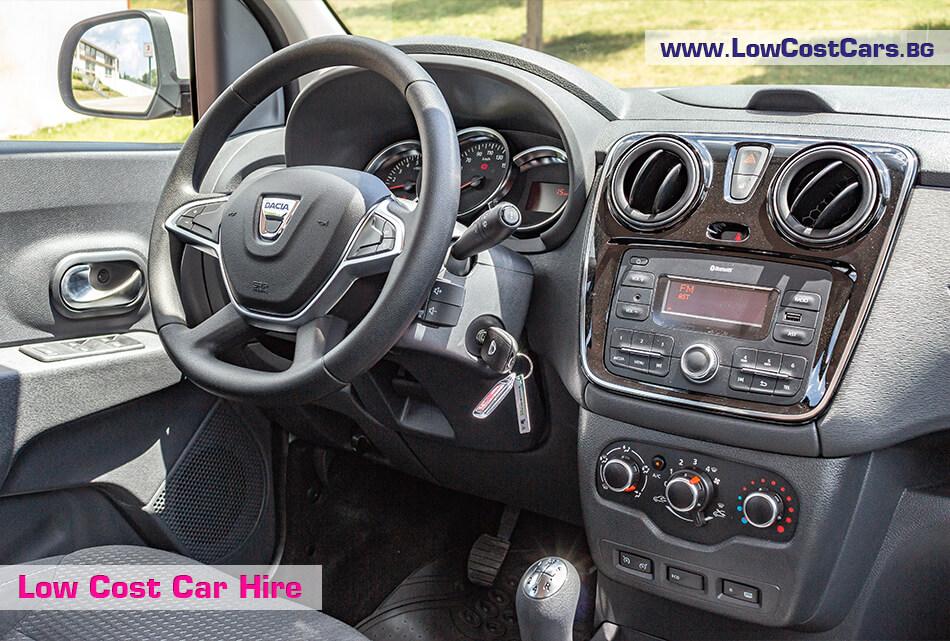 Dacia Lodgy 2019 - interior
