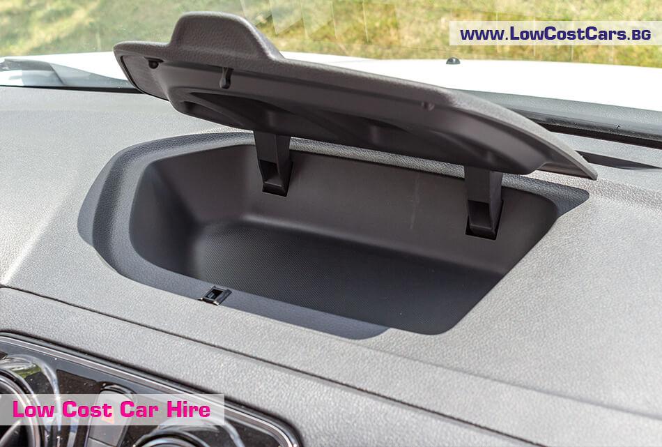 Dacia Lodgy 2019 - glove compartment
