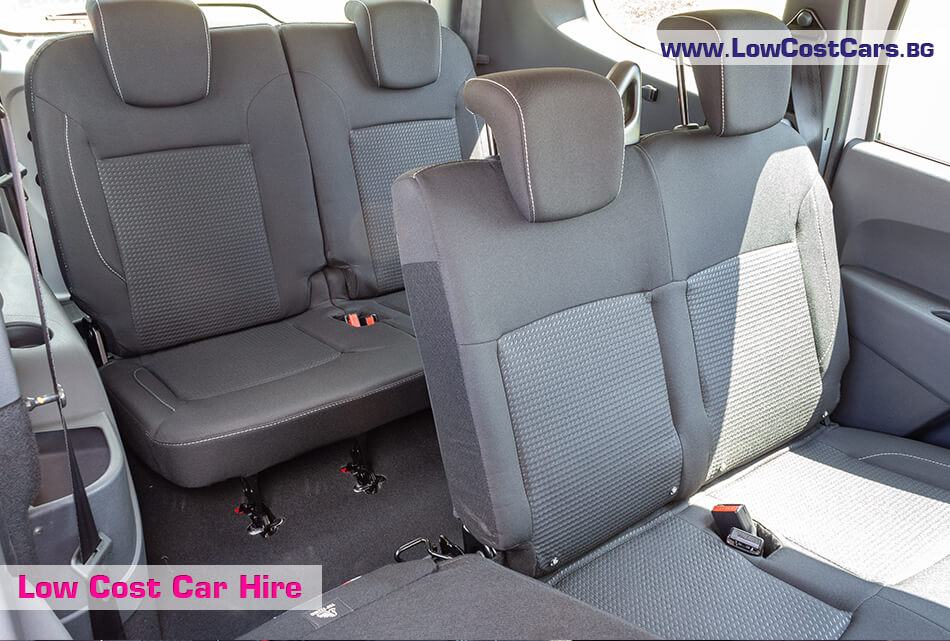 Dacia Lodgy 2019 - seats