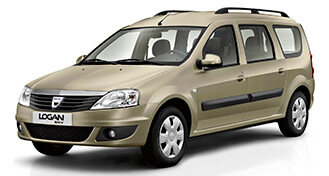 Dacia Logan MCV rental from LowCostCars