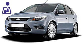 Ford Focus for rent from LowCostCars