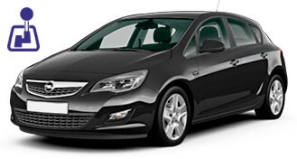 Opel Astra for rent from LowCostCars
