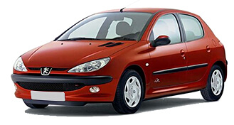 Peugeot 206 from LowCostCars