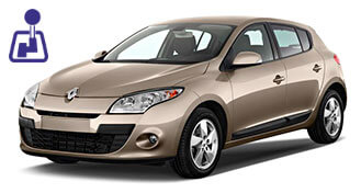 Renault Megane for rent from LowCostCars
