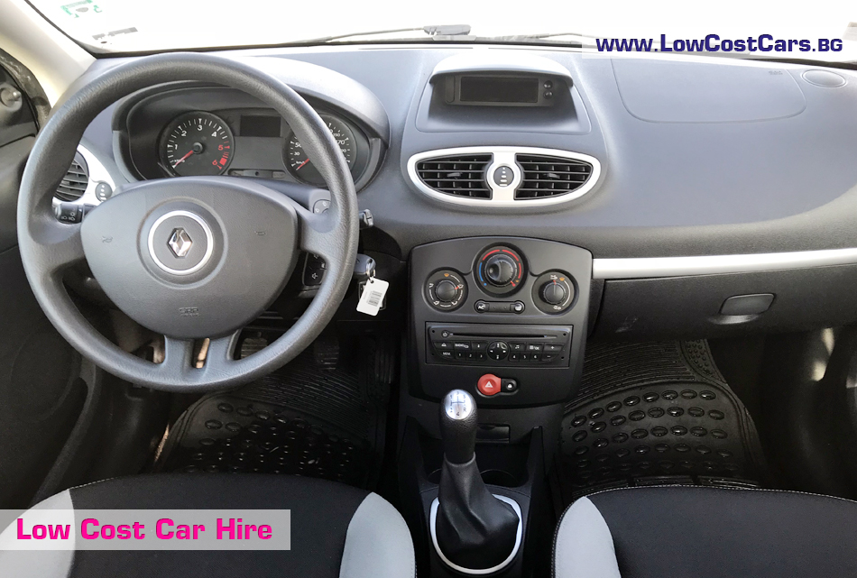Renault Clio III for rent