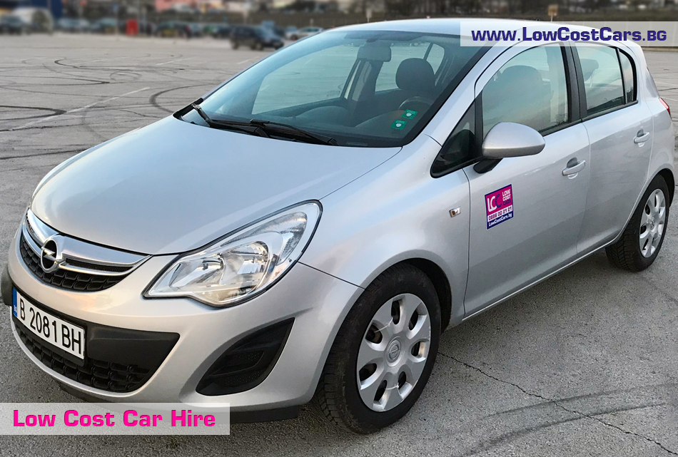 Opel Corsa for rent