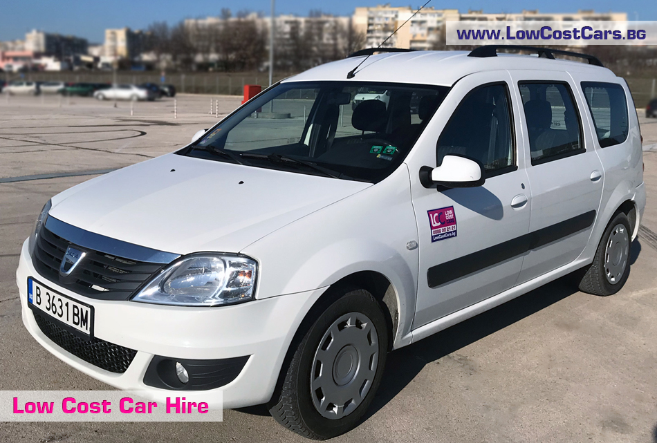 Dacia MCV for rent
