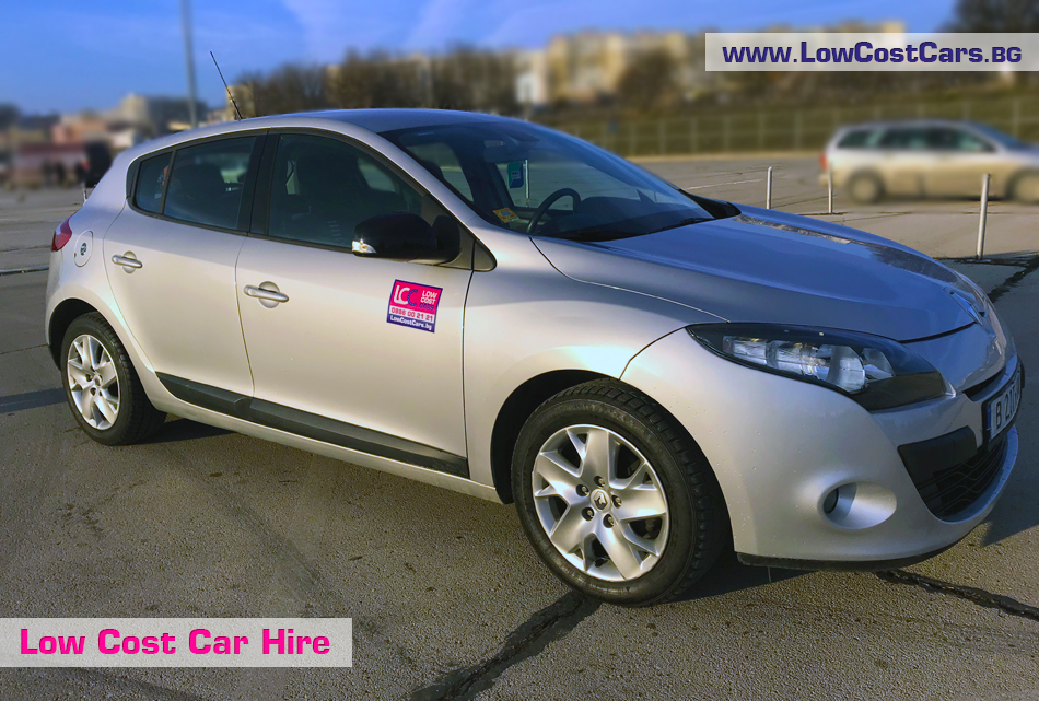 Renault Megane for rent